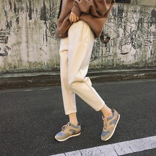 楚楚街9元包邮折800今日米折网女装9.9块西装裤哈伦裤九分裤长裤