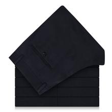 雅戈尔藏青色西裤Y*TX29803FHA羊毛西装裤正装毛料深蓝色纯色长裤图片