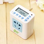 普彩P02电饭煲定时器 厨房煮饭电子自动断电智能电源定时开关插座