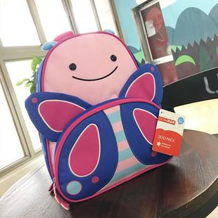 美国正品skiphop卡通儿童书包幼儿园3-6岁男女宝宝帆布旅行双肩包