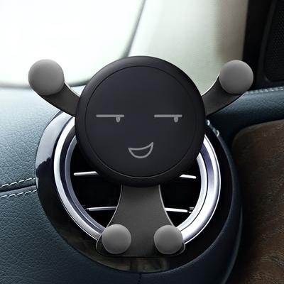 车载手机支架创意多功能车内通用汽车导航车上出风口卡扣式支撑座