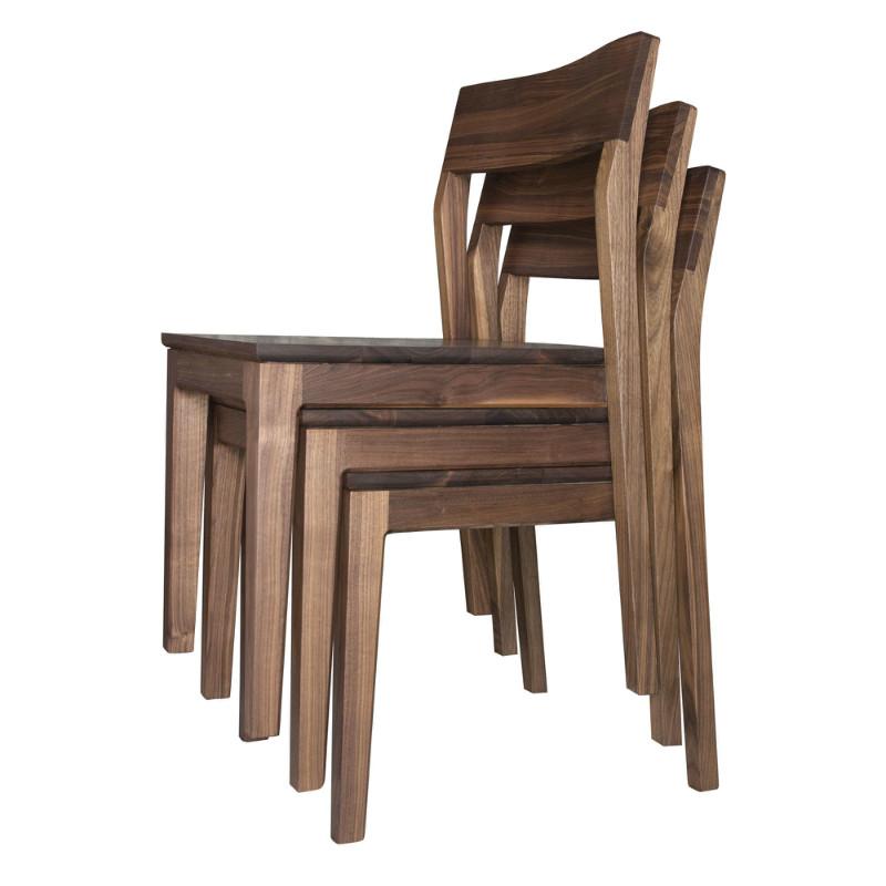 实木餐桌椅 书桌椅子 黑胡桃 橡木 木蜡油环保 餐椅