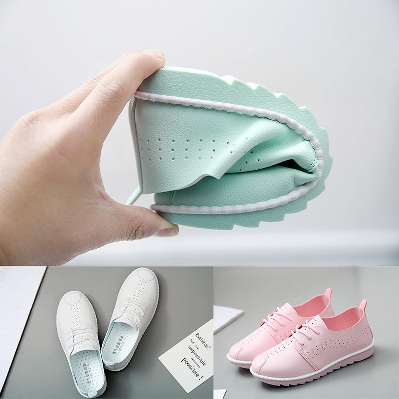 女百搭休闲鞋系带透气平底学生夏季帆布鞋小白鞋