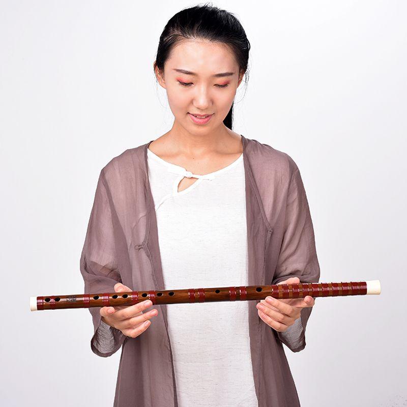 素笛限量收藏厂家 野生老料笛子专业演出横笛 湛文兵藏品苦竹笛