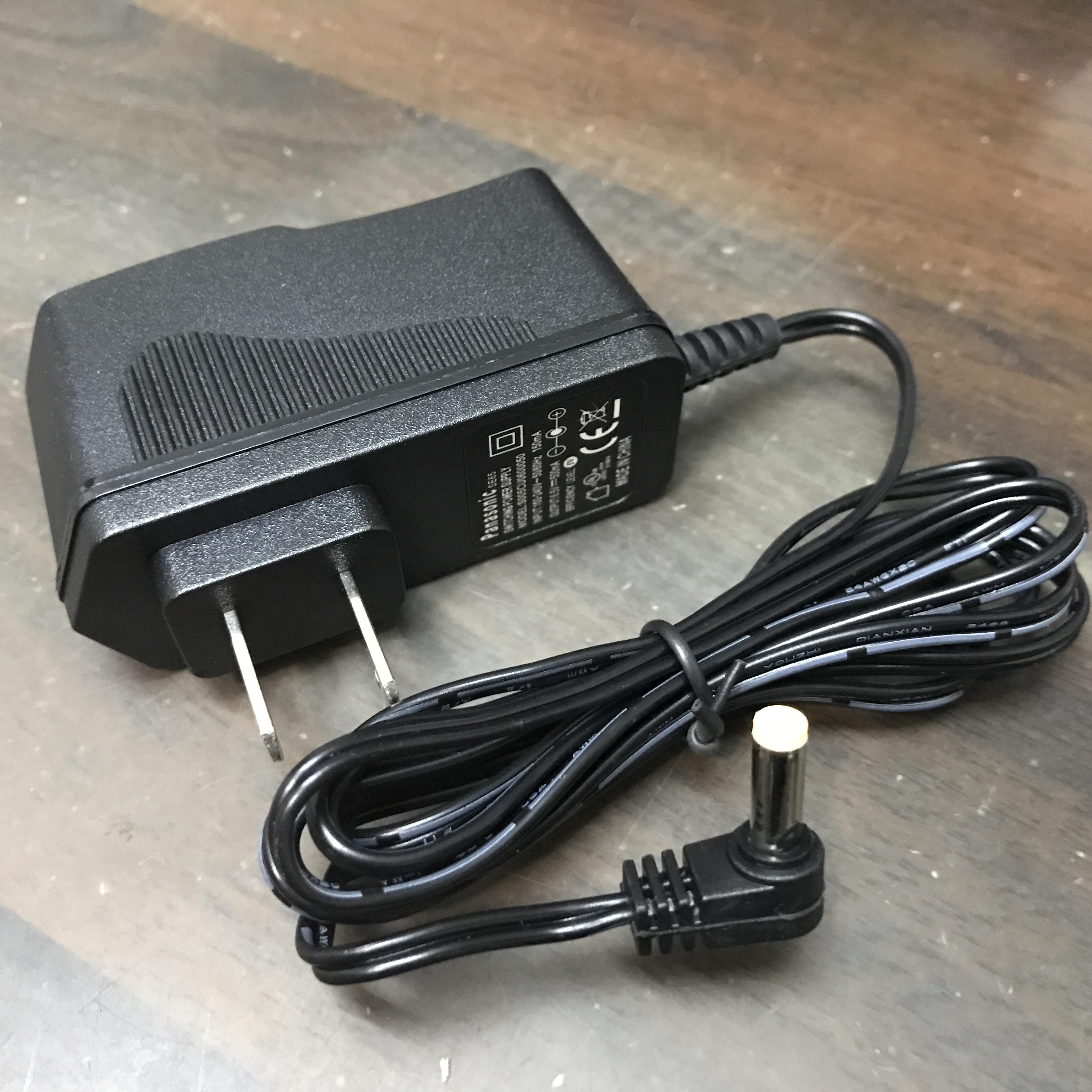 松下无绳电话机子母机电源适配器SE65 100-240V 6.5V 500mA充电器