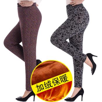 天天特价冬季棉裤加绒加厚女款弹