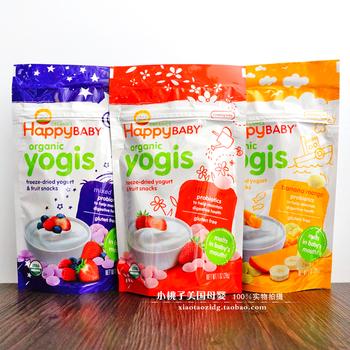 美国喜贝酸奶小溶豆 3包