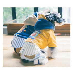 Touchdog它它2017秋冬宠物衣服狗衣服泰迪金毛衣服宠物潮流卫衣