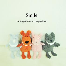 英国微笑大牙玩偶可爱呲牙露齿安抚粉红猪公仔超柔软女生毛绒玩具