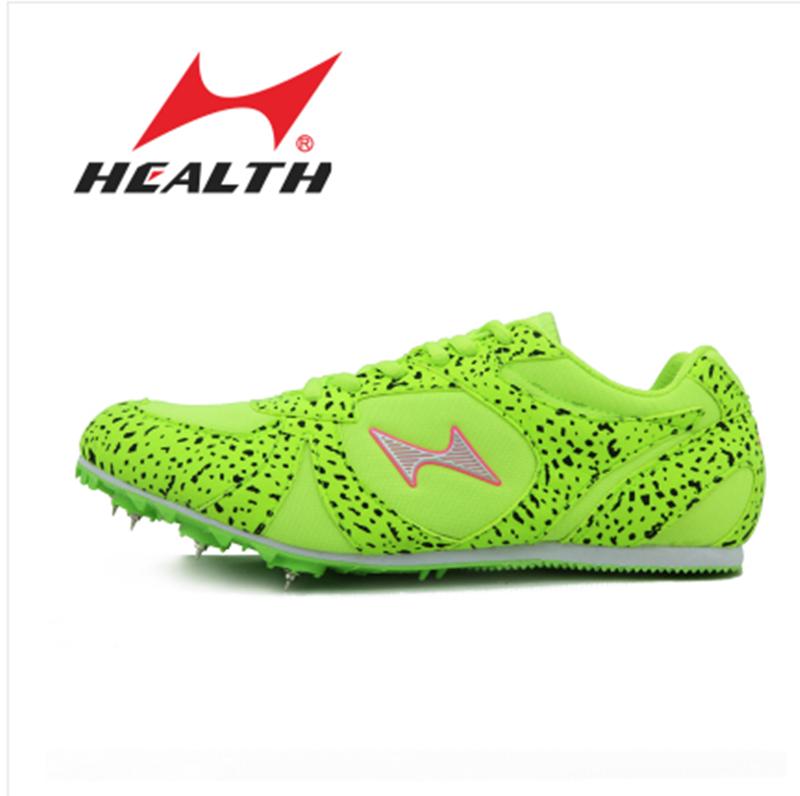 正品海尔斯钉鞋男女中短跑考试钉子运动鞋田径跳远跑步短钉跑鞋