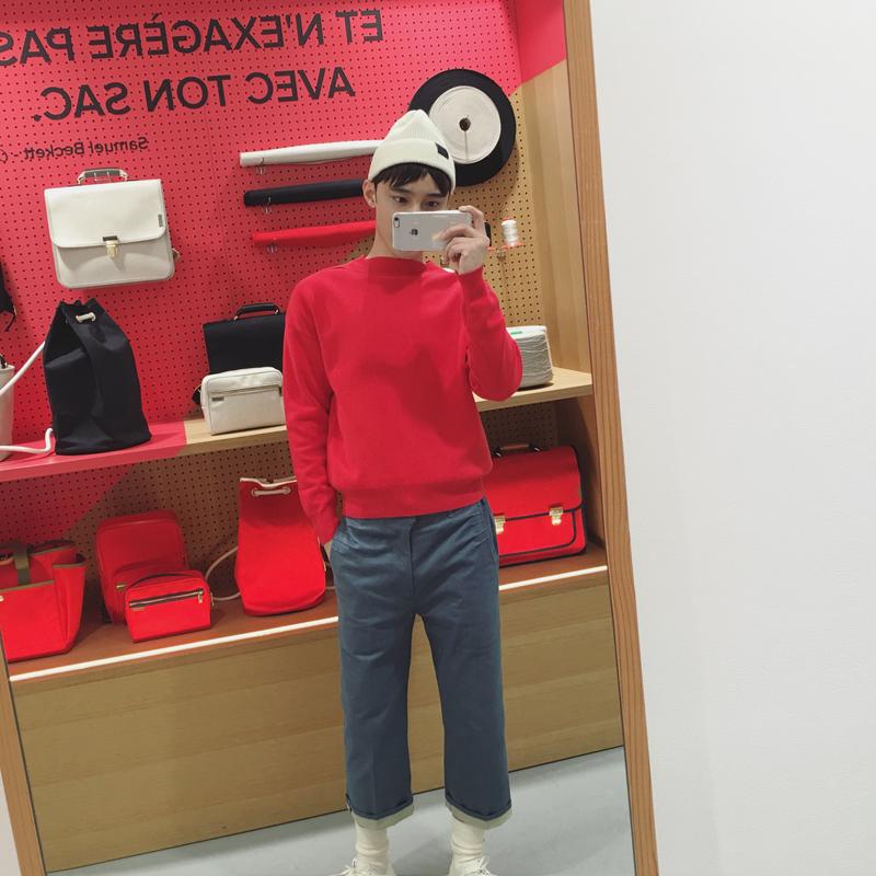 @威廉威 /2016秋冬 国旗红毛衣 还有亮粉红