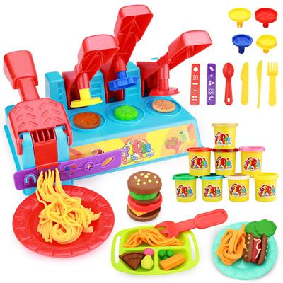 儿童玩具3D无毒粘土超轻像皮泥彩泥套装 女孩橡皮泥模具工具组合