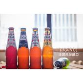 法国进口 树莓等果味啤酒5瓶组合 1664玫瑰 楠希小馆