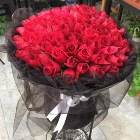 99朵红玫瑰长沙鲜花株洲送花郑州西安花店杭州武汉鲜花同城速递