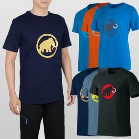 新款Mammut Logo T-Shirt Garantie 猛犸象纯棉有机棉短袖T恤