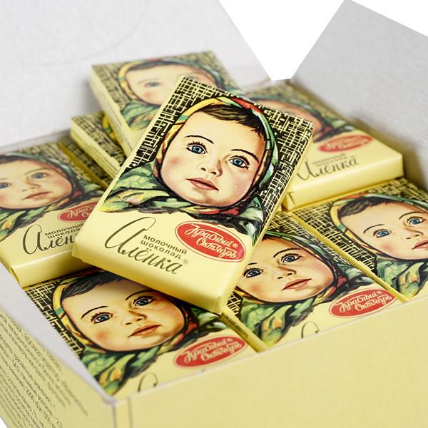 块整盒迷你礼物大头巧克力娃娃 零食俄罗斯 进口