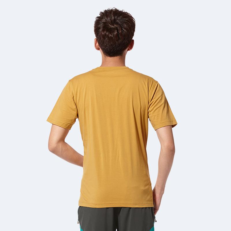 【百搭圆领】亚特印花速干T恤男款透气轻薄吸汗短袖春夏季休闲tee