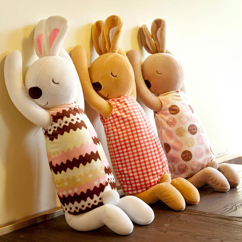 陪睡公仔禮物寶寶大號安撫兒童節睡覺大人毛絨玩具娃娃兔子