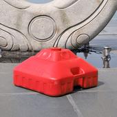 包邮 30公斤遮阳伞底座太阳广告伞伞坐支架注水灌沙伞户外伞插