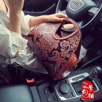 女包手提包2016新款品牌正品复古
