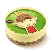 福州配送哈根达斯生日冰淇淋蛋糕小王子600克(6寸)曲奇+香草
