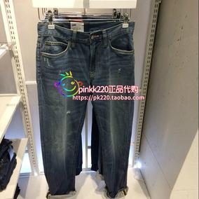 正品代购Lee 2017年春夏款男士牛仔裤 L12726D105AX 原790