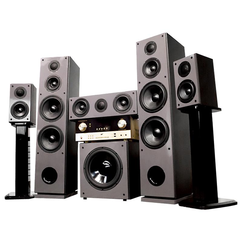 功放 DTS 音箱套装家用低音炮音响 hifi 寸 8 家庭影院双 5.1 HAX150 哈士