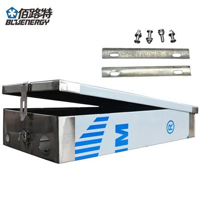 定制锂电池盒子不锈钢外壳铅酸代驾电动车电池盒电瓶壳车尾箱改装