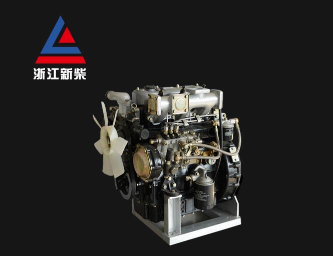 合力杭州龙工柳工3t叉车新柴c490发动机总成环保型c490bpg烟量少
