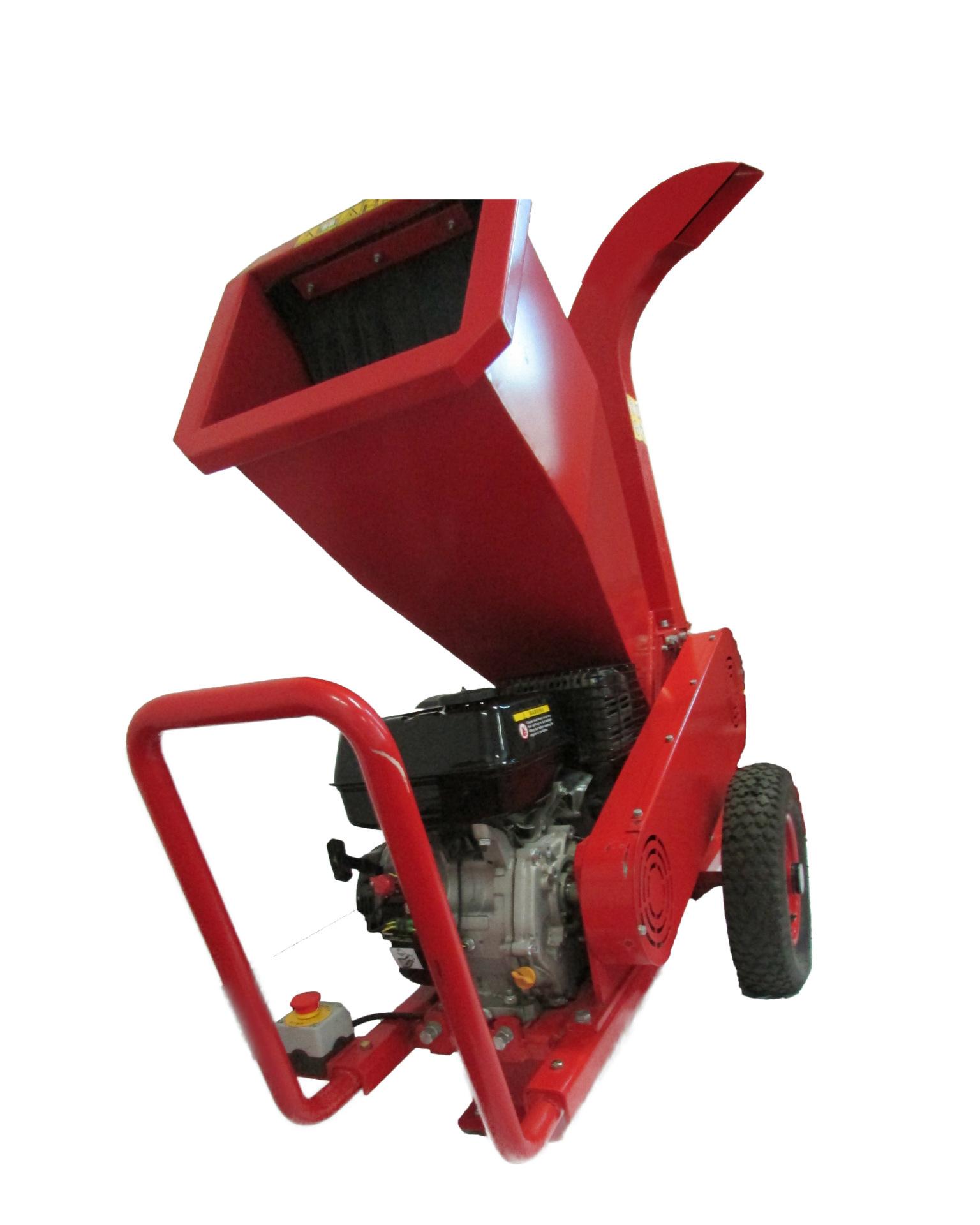 厂家供应9马力汽油碎枝碎木机新款单杠四冲程手推卧式