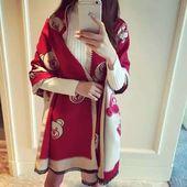 天天特价围巾女冬季双面韩版学生两用秋冬季加厚仿羊绒披肩围脖