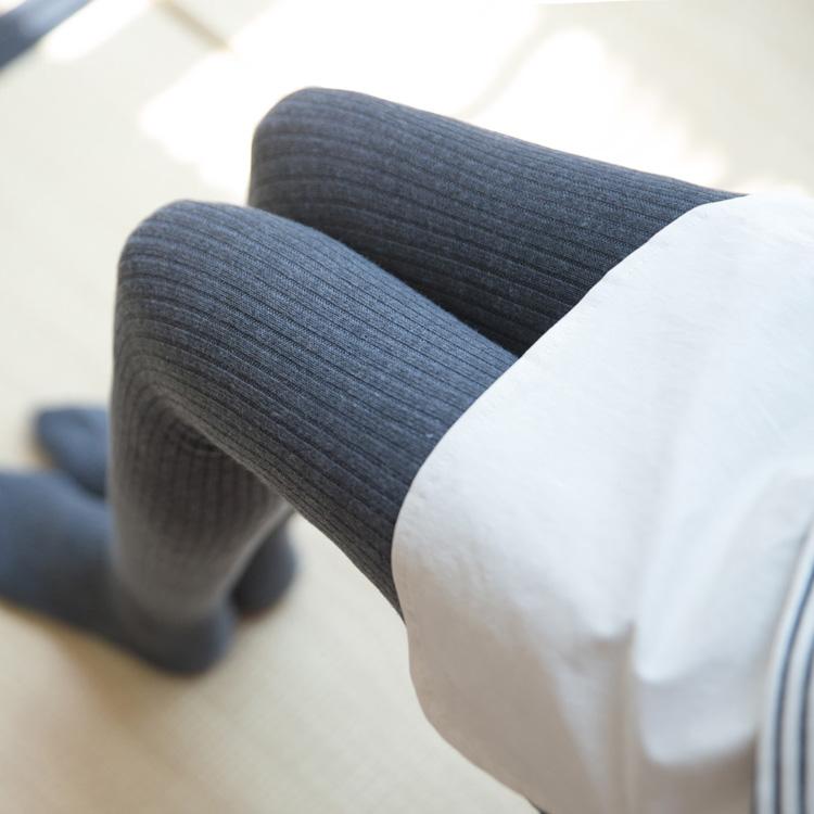 超赞保暖羊绒袜 秋冬拉绒竖条纹显瘦打底袜加厚发热连裤袜女