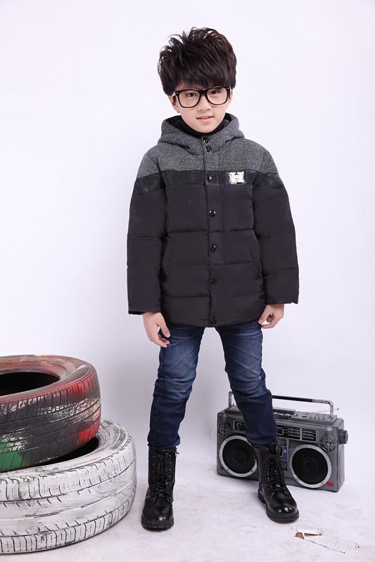 特价儿童羽绒服中长款男童新款反季清仓冬季韩版服装