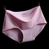 女士运动无痕内裤锦纶一片无缝三角大码女内裤2016夏薄健身瑜伽