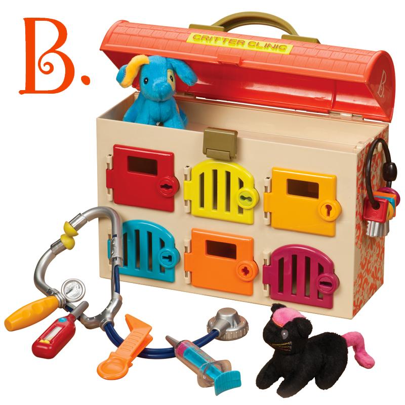 toys精灵动物医院套装宝宝医生打针游戏儿童
