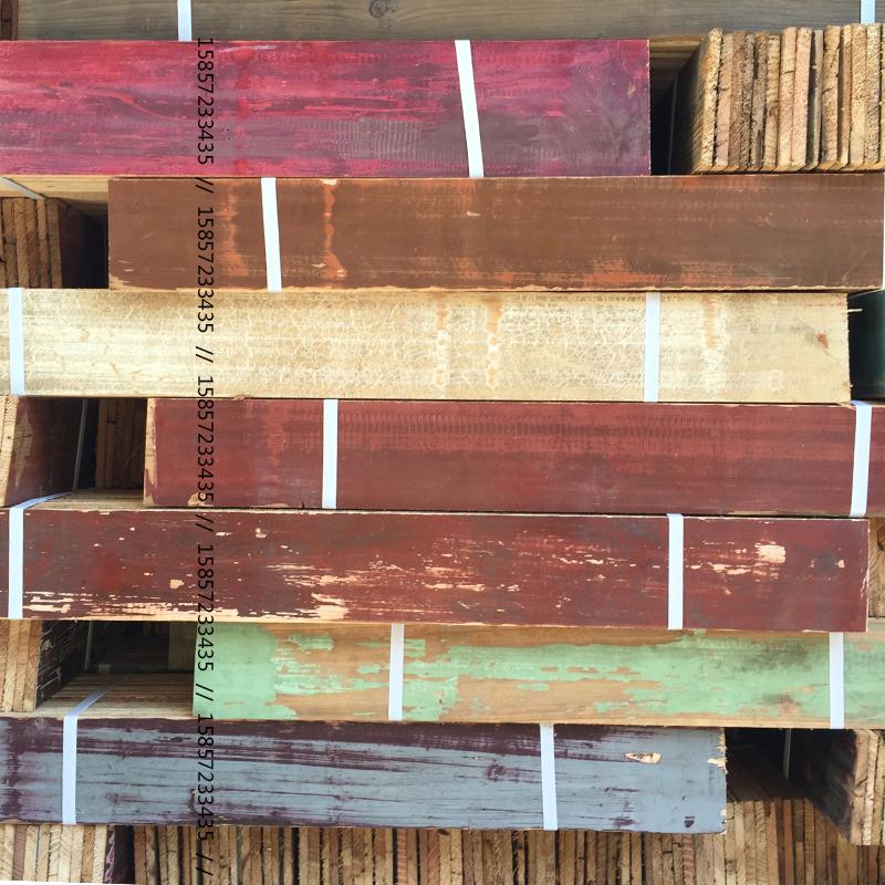 旧木板老木板实木吊顶做旧装饰壁饰loft风格背景墙