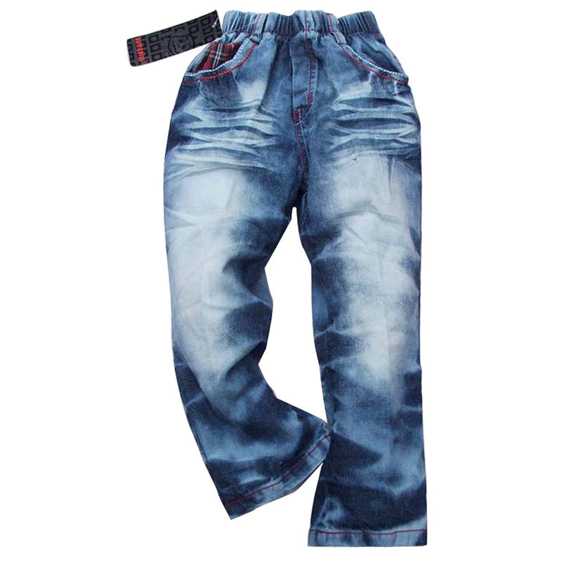 男童牛仔裤  童装 裤子 长裤 牛仔 裤子4-10岁库存清理特价