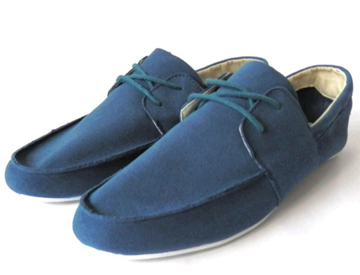 英伦潮流懒人鞋百搭时尚韩版男鞋 豆豆鞋透气耐磨日常男式帆布鞋