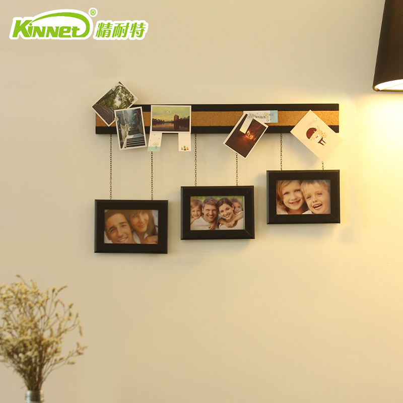 挂墙组合相框客厅楼梯照片墙实木相框墙卧室