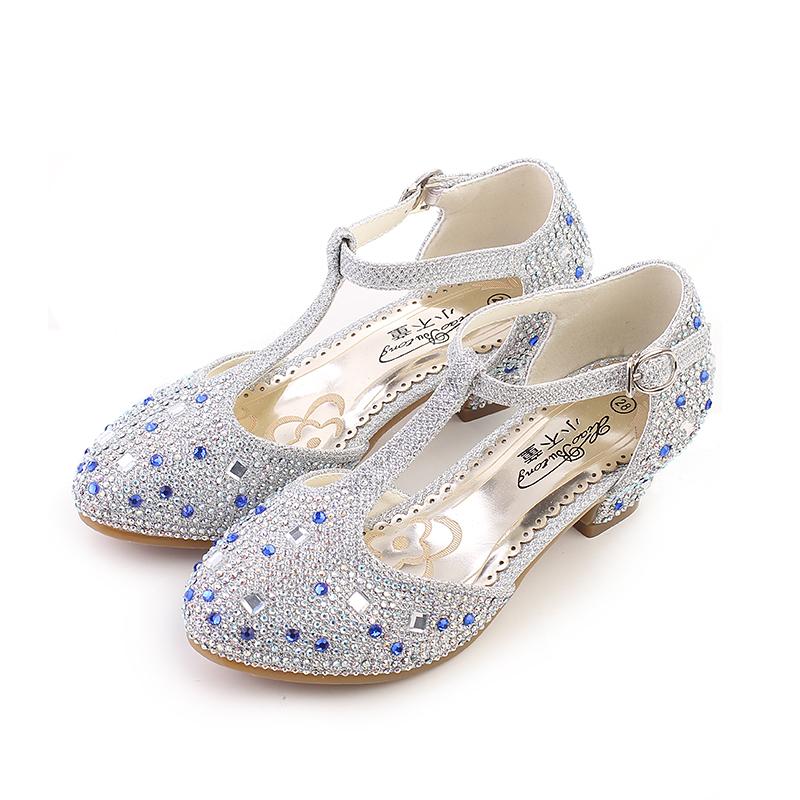 品质十分好的儿童高跟鞋新款图片及价格大全