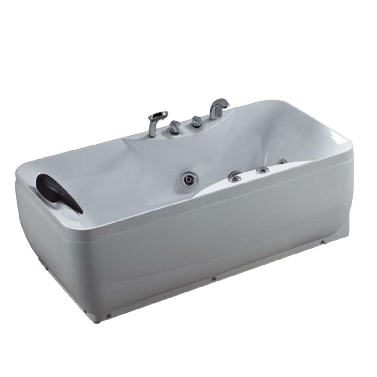 WOMA正品浴缸 独立浴缸 进口亚克力按摩浴缸 WX348