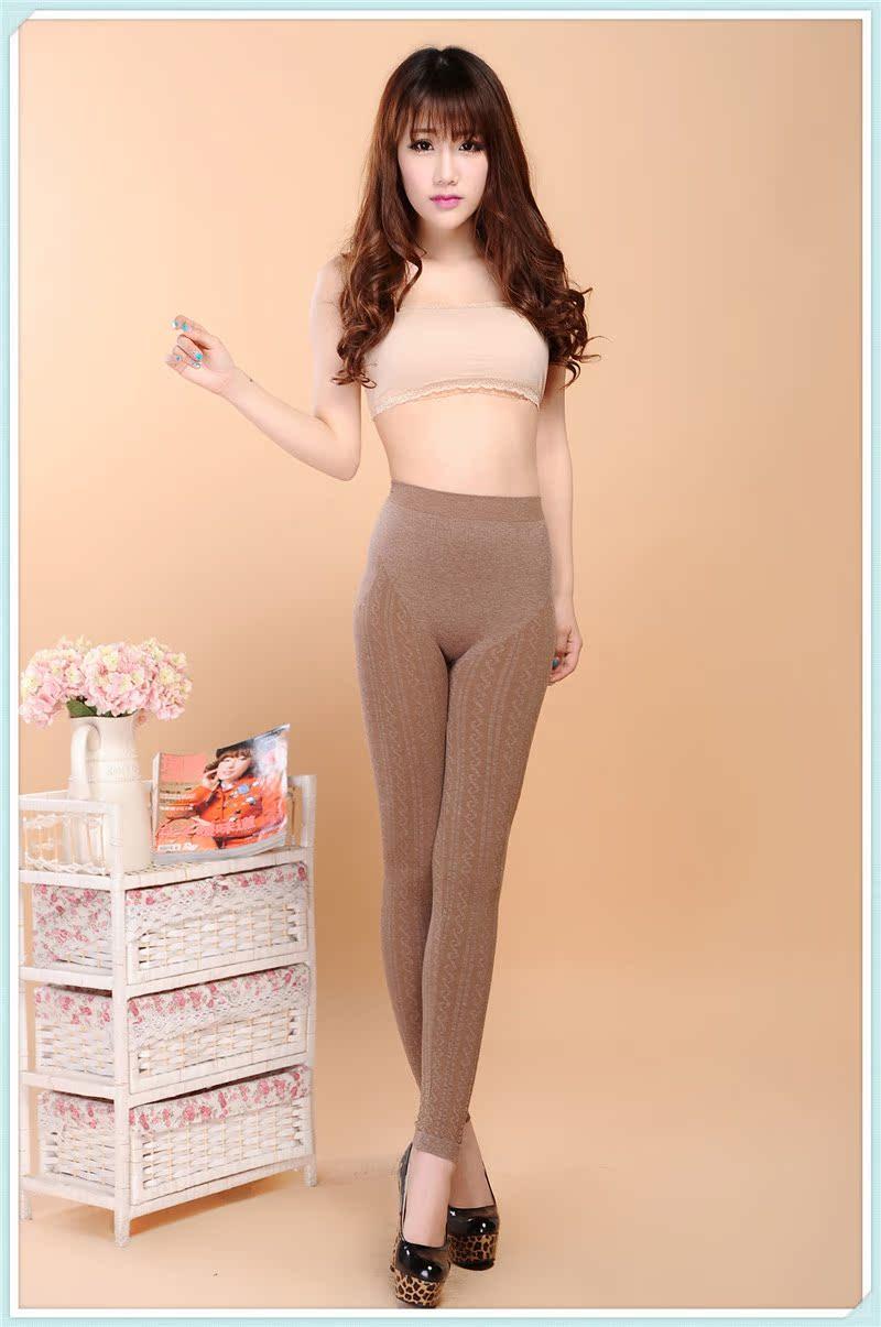 正品芬雪琳2903 出口韩国仿羊绒S型九分裤 29.00元包邮