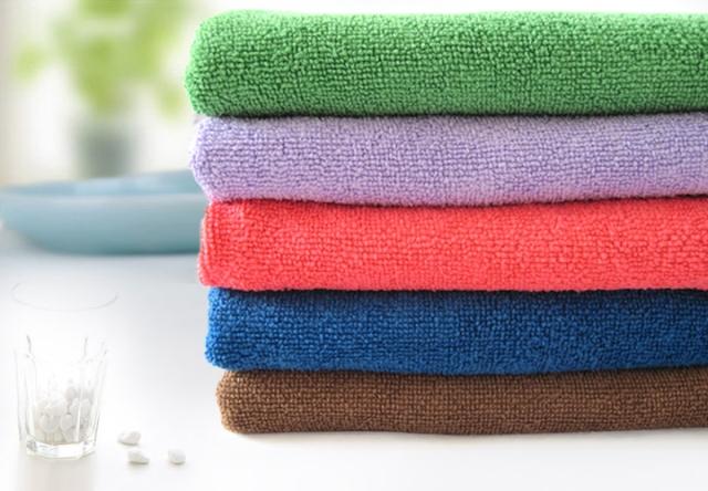 普速纤维擦拭巾 多功能擦车巾 洗车巾 打蜡防雾毛巾30*30cm