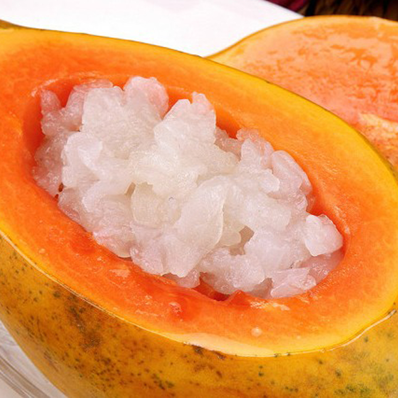 御鹿坊 雪蛤正品 长白山特级林蛙油 木瓜炖雪蛤 更年期内分泌祛痘