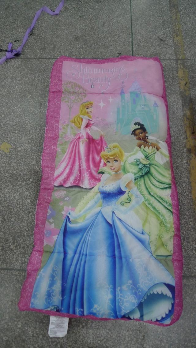 儿童睡袋 新款 公主睡袋 2斤重 144*70CM