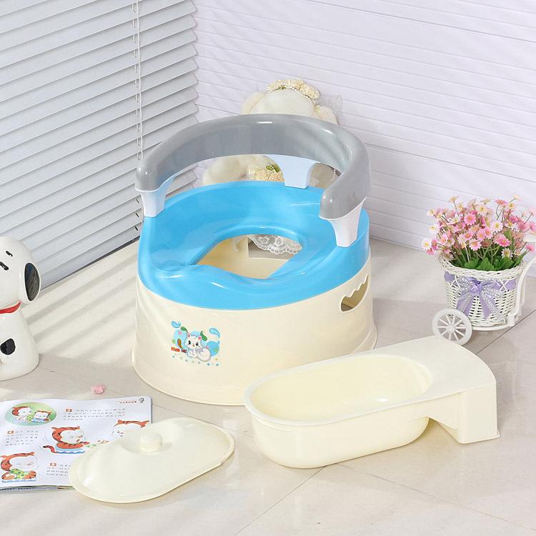 婴儿坐便器靠背扶手型抽屉式男女适用小马桶尿盆正品限时促销