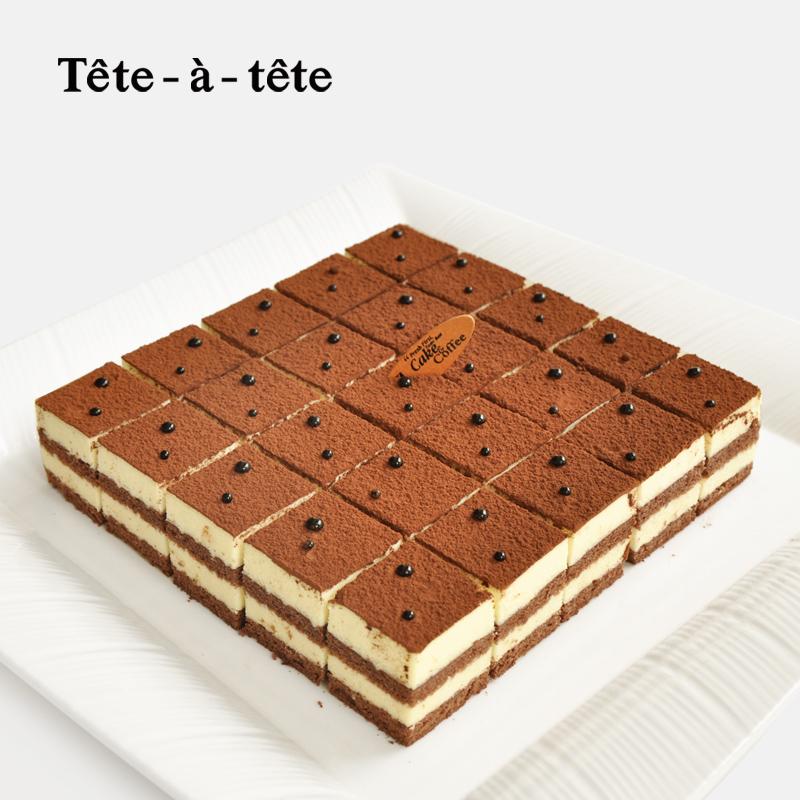 tete-a-tete提拉米苏上海新鲜生日切块宴会蛋糕甜点蛋糕免费配送