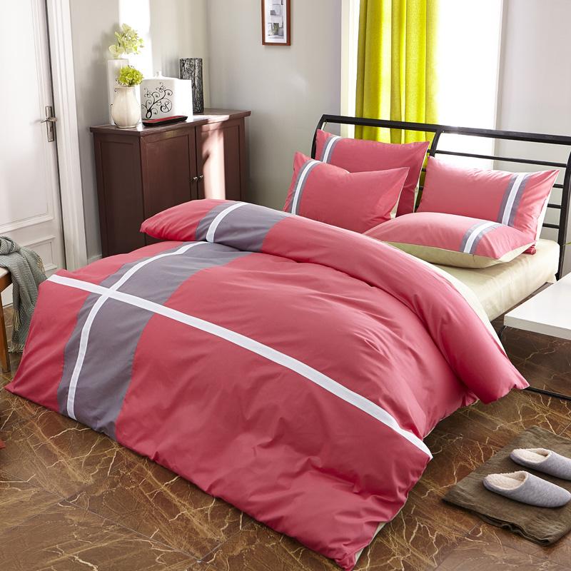 艺术四件套全活性新款简约风时尚休闲床上用品四件套包邮