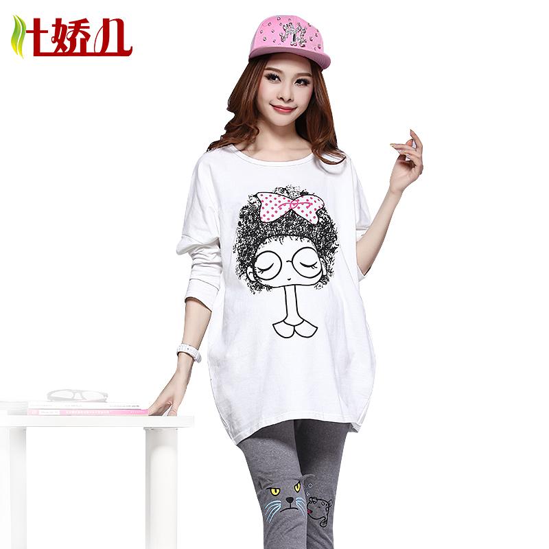 孕妇秋装 新款上衣 韩版宽松时尚蝙蝠袖长袖T恤