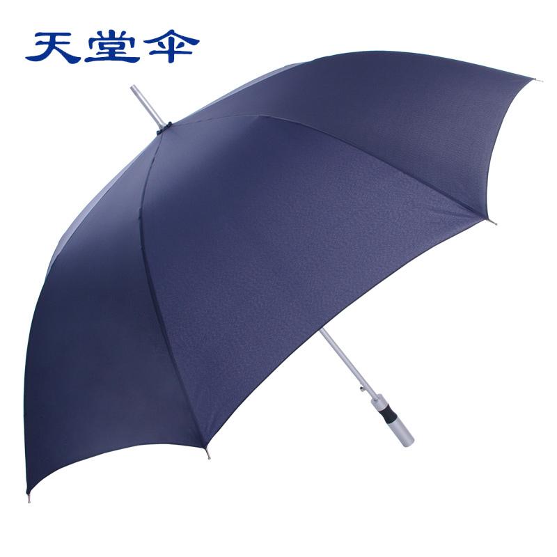 天堂伞正品太阳伞男士直杆超大晴雨伞长柄伞高尔夫防紫外线遮阳